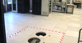 Doppelboden & Bohrungen